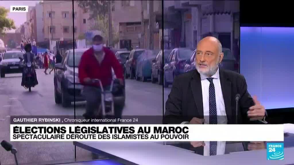 2021-09-09 13:02 Élections législatives au Maroc : spectaculaire déroute des islamistes au pouvoir