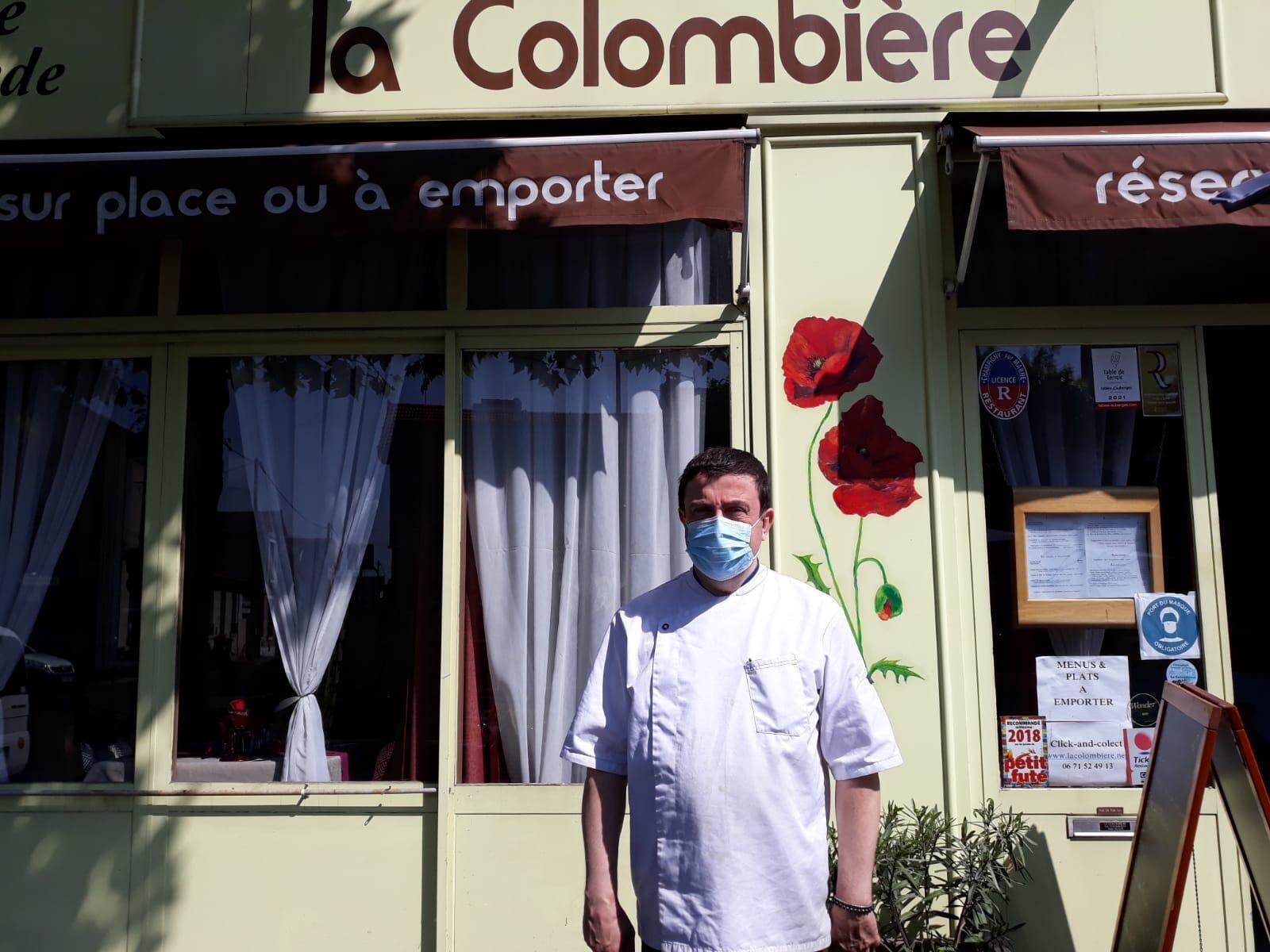 Michel, patron de La Colombière, à Champigny-sur-Marne.