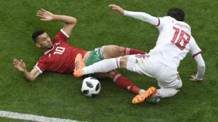Les Marocains ont été battus sur le fil par une solide équipe d'Iran.