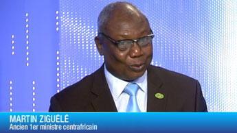 Martin Ziguélé, ancien Premier ministre centrafricain