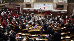 L'Assemblée nationale lors d'un vote.