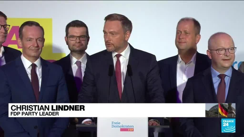 2021-09-27 13:32 Germany's FDP holds strong cards in post-election haggling