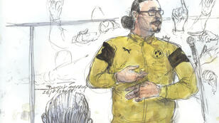 Jawad Bendaoud durant son procès, le 26 janvier 2018.