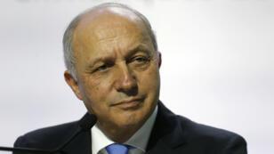 Le ministre français des Affaires étrangères Laurent Fabius.