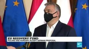 2020-12-09 18:05 Poland, Hungary accept German EU budget offer as 'D-Day' approaches