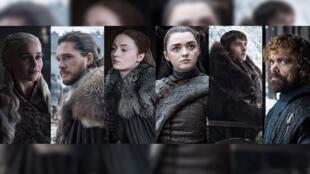 Daenerys Targaryen, Jon Snow, Sansa Stark, Arya Stark, Brandon Stark y Tyrion Lannister, los más opcionados al Trono de Hierro.