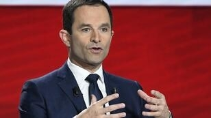 Benoît Hamon, candidat à la primaire de la gauche, le 15 janvier.