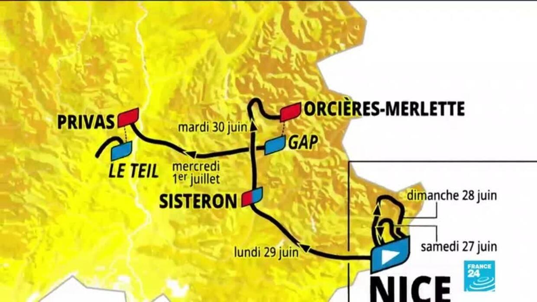 Tour De France 2020 Sturz