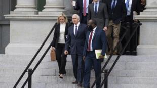 Le vice-président Mike Pence a mené des discussions pour mettre fin au shutdown, le 5 janvier 2019.
