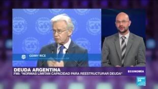Economía FMI deuda argentina