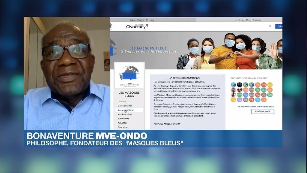 """""""Les Masques bleus"""", une plateforme citoyenne pour construire l'Afrique post-Covid"""