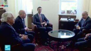 مستشار الرئيس الأمريكي جاريد كوشنر في البيت الأبيض في واشنطن في 25 آذار/مارس 2019.