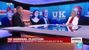 """2019-12-13 06:12 UK General Election: """"There's going to be a clash between Sturgeon and Johnson"""""""