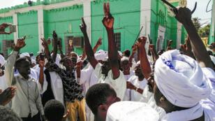 مظاهرة بالعاصمة السودانية الخرطوم 25 يناير/ كانون الثاني 2019