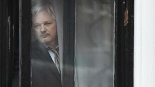 Julian Assange était réfugié à l'ambassade d'Équateur à Londres depuis 2012.