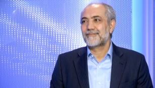 Ardeshir Amir Arjomand, porte-parole du Mouvement vert iranien