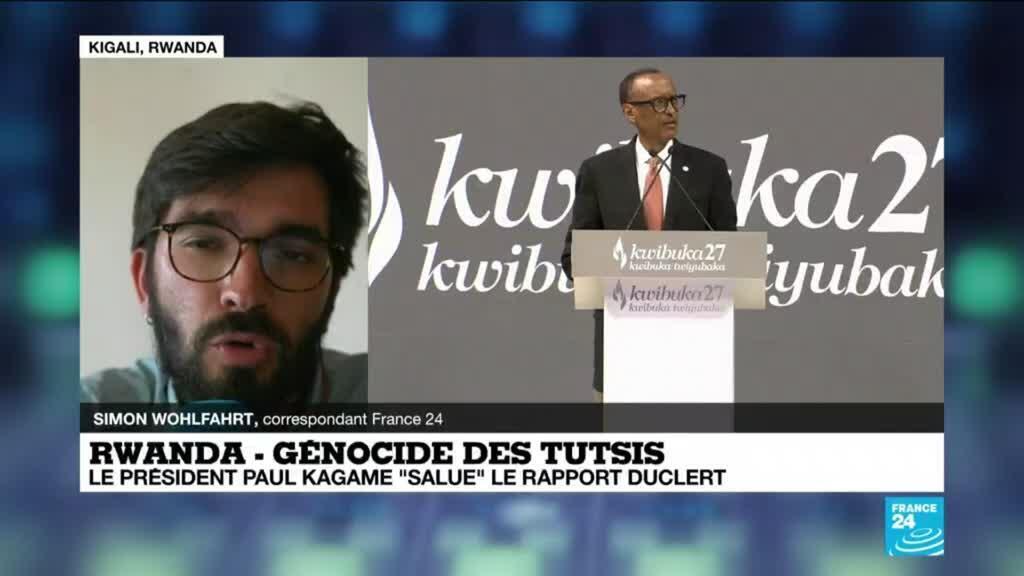 """2021-04-07 16:01 Génocide au Rwanda : pour le président P. Kagamé, le rapport Duclert est """"un important pas en avant"""""""