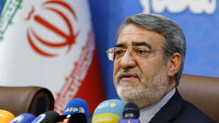 """Le ministre de l'Intérieur iranien Abdolreza Rahmani Fazli, ici à Téhéran, le 1er juillet 2018, a estimé le 31 juillet que """"l'Amérique n'est pas fiable""""."""