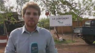 Le campement de Kangaba, près de Bamako, est fréquenté par les expatriés.