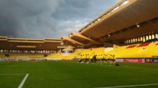 Les joueurs de Dortmund se préparent à renverser l'AS Monaco, mercredi soir à Louis-II.
