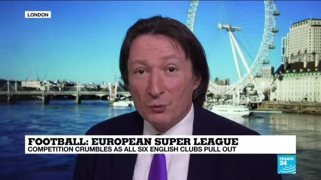 2021-04-21 13:08 Football: Super League dead after Atletico and Inter follow English exodus