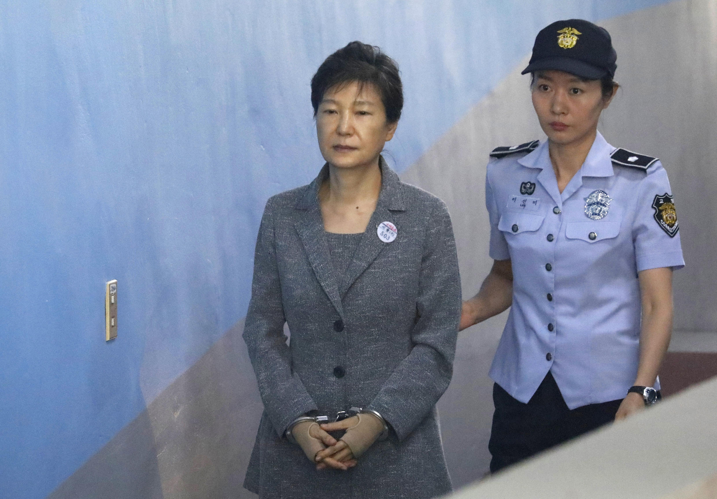 ParkGeun-hye was convicted in 2018 of bribery and abuse of power
