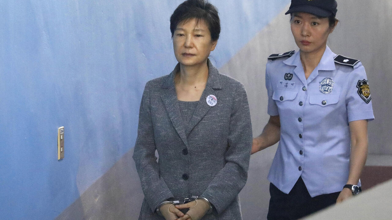 South Korea Supreme Court upholds 20-year prison sentence for ex-president Park