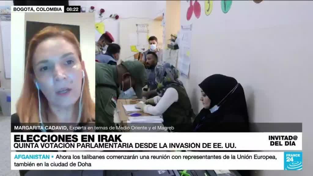 """2021-10-11 15:20 Margarita Cadavid: """"El boicot de los iraquíes que no salieron a votar verdaderamente funcionó"""""""