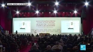 2020-09-11 13:13 Des pourparlers de paix historiques sur l'Afghanistan s'ouvriront samedi au Qatar