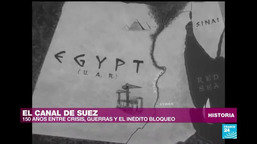 Historia de Canal de Suez