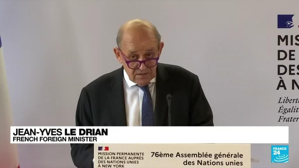 2021-09-21 08:33 'Crisis of trust': France bristles at US submarine deal