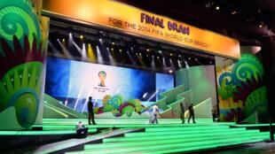 Le tirage au sort du Mondial-2014 se déroule à Costa do Sauipe