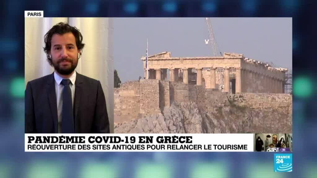 2020-05-18 09:08 Covid-19 : En Grèce, la réouverture des site antique nourrit l'espoir d'une relance du tourisme