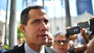 Juan Guaido à Caracas, le 29 janvier 2019.