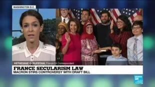 2020-12-09 17:04 France secularism law: American media critical of radical islam bill