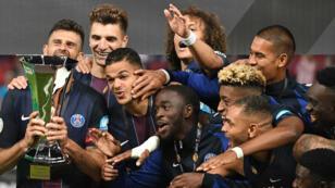 Le PSG a remporté son quatrième Trophée des champions d'affilée, samedi 6 août à Klagenfurt (Autriche).