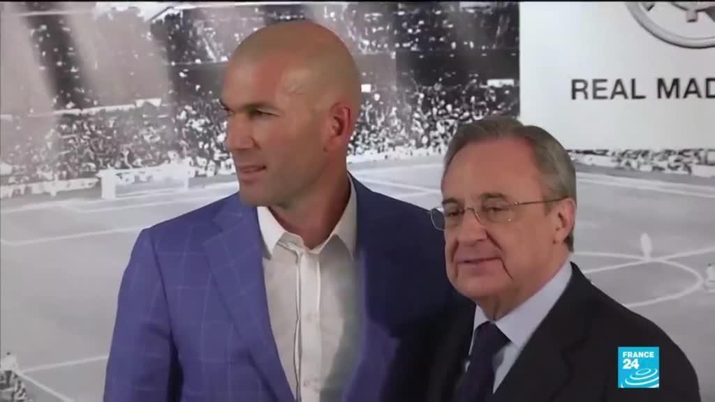 2021-05-27 17:07 Football : Zinedine Zidane et le Real Madrid, c'est officiellement terminé