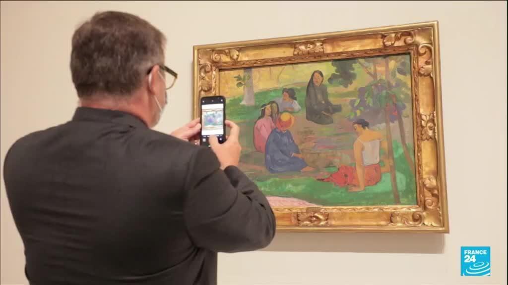 2021-09-22 10:12 La collection d'art des frères Morozov inaugurée à la Fondation Louis Vuitton
