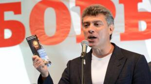 L'opposant russe Boris Nemtsov en 2012.