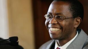 Ignace Murwanashyaka, président du FDLR, le 31 mars 2005, à Rome.