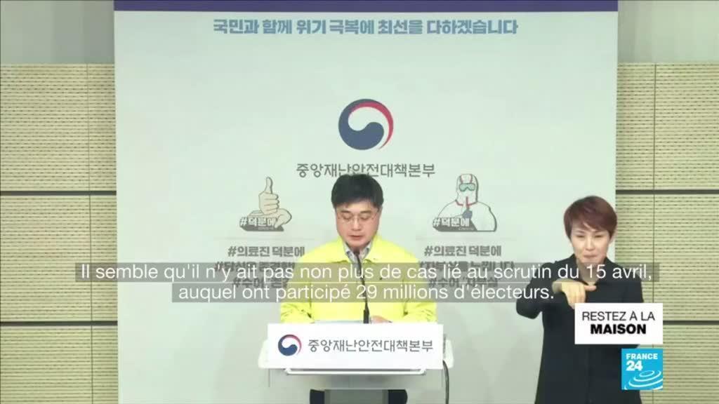 2020-04-30 16:09 Coronavirus : Aucune nouvelle contamination locale enregistrée en Corée du Sud