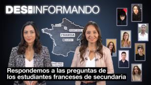 Erika Olavarría y Natalia Ruiz Giraldo presentan Des-Informando en su edición 2021.