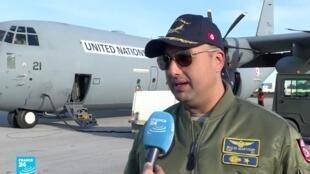 ضابط في سلاح الجو التونسي