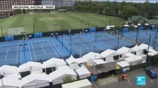 2021-01-19 17:08 Open d'Australie : deux joueurs testés positifs au Covid-19, le tournoi sous pression