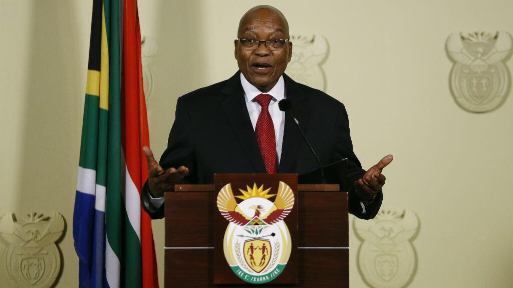 رئيس جنوب أفريقيا السابق جاكوب زوما