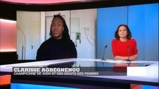 Clarisse Agbégnénou, championne de judo et des droits des femmes