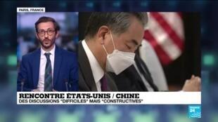 2021-03-20 04:37 Quel bilan pour la rencontre États-Unis / Chine ?