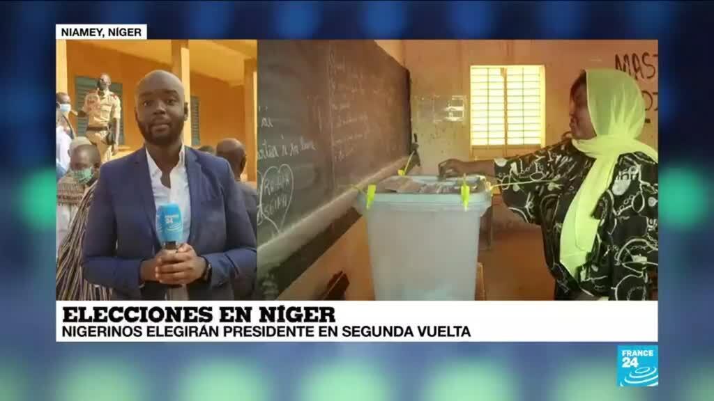 2021-02-21 13:43 Informe desde Niamey: nigerinos eligen presidente en segunda vuelta