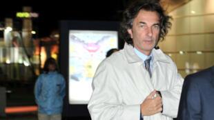 Ángelo Calcaterra, empresario argentino y primo del presidente Mauricio Macri en Buenos Aires. 3 de septiembre de 2012.