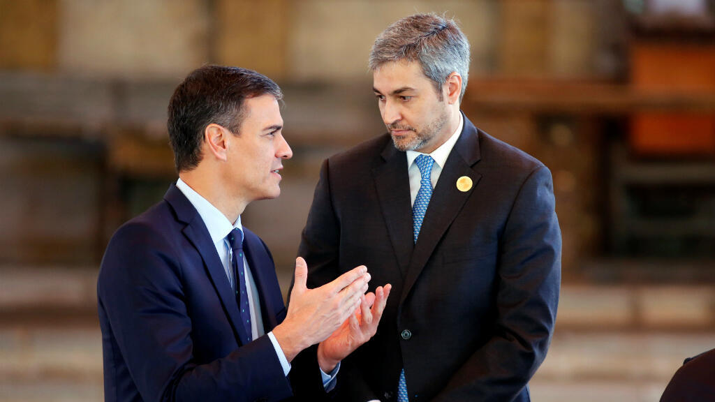 Mario Abdo Benítez (derecha) ha manifestado su disposición para lucha en contra de la guerrilla y avitar nuevos hechos de violencia.